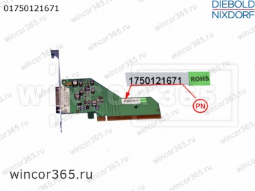 Видеоконтроллер DVI-ADD2-PCIe-x16 Wincor - артикул 1750121671